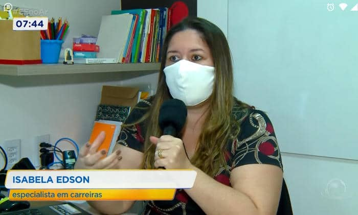 ENTREVISTA CONCEDIDA À TV CIDADE DE COMUNICAÇÃO SOBRE EMPREGABILIDADE